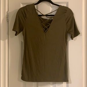 Tops - V-Neck Shirt